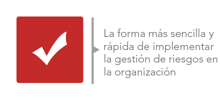 La forma mas sencilla y rapida de implementar la gestion de riesgos en la organización